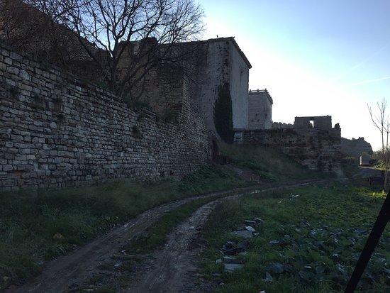 İstanbul, Türkiye: ビザンチン時代の壁
