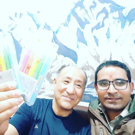 I am with Mr Kim(#koreanman ). Who love @ramblers_hostel very much.  #hostel #travel #hostellife #hostelworld #backpacker #hotel #nepal #turismo #travelgram #backpacking #mountain #travelphotography #backpackers #bar #vacation #musicphotography #party #boutiquehostel #flashpacker #travelblogger #hostels #accommodation #instatravel #ramblershostel #Nepal #kathmandu #nightlife #thamelhostel #hostelinnepal