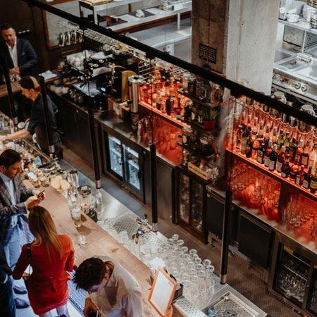 World-class cocktail bar