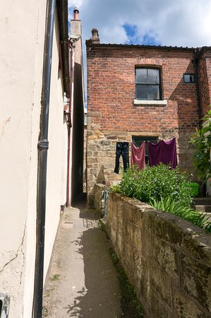 Dog Laup, the narrowest street in Yorkshire