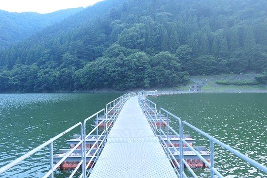 無料で渡ることが出来、吊橋ほどではないですが独特のスリルがある橋でした。