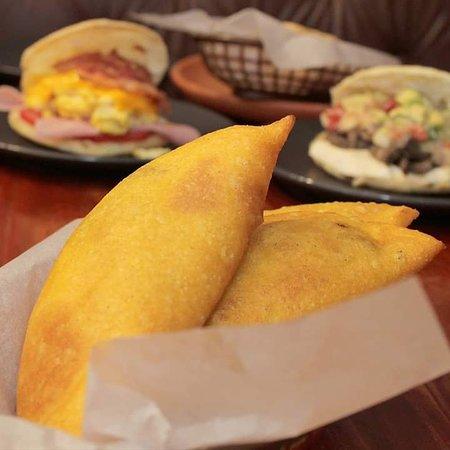 You can only find these crunchy venezualan empanadas @ Arepa Cafe Barranco...