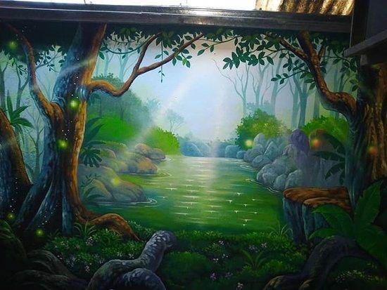 Tataboom Bar & Restaurant: Our new wall art
