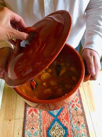 Os nosso pratos - Caldeirada de pescada