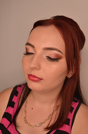 The make-up is done by us and we have hundreds of happy costumers and photos with videos of our work, just check on us.