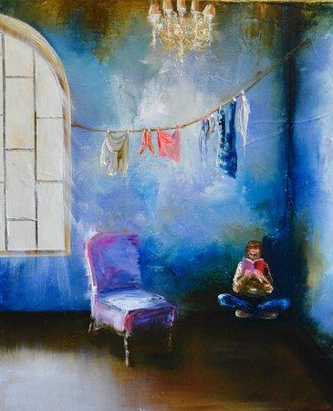 Peinture: Virginie Mezan de Malartic