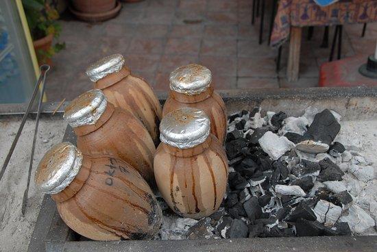 Lamb in the clay pot