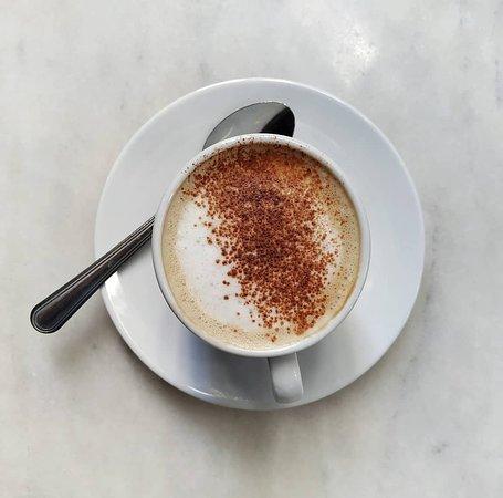 Café con bebida vegetal