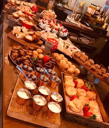 Buffet selection, ask us about our different options.