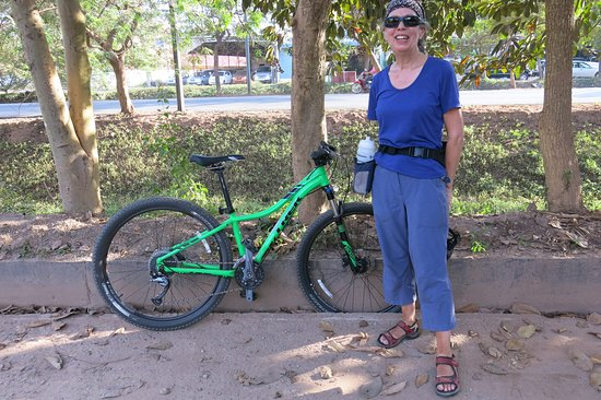 Siem Reap, Kambodscha: You can tell by the happy smile that the bikes Sokhum supplied were superb.