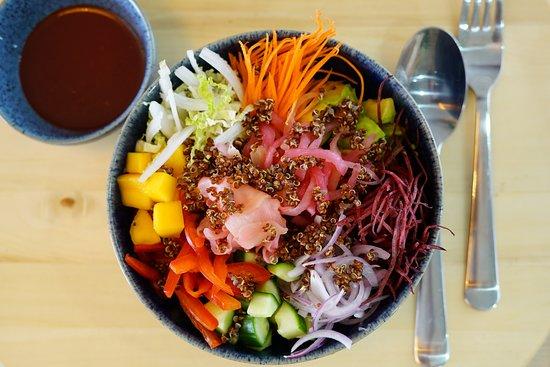 Super Vegetarian Poke Bowl