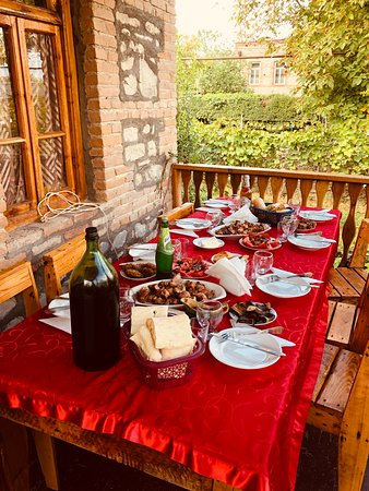 Full Day Private Wine Tour in Kakheti Region with Lunch and 3 Wine Tastings: Simple, rustic lunch, but delicious!