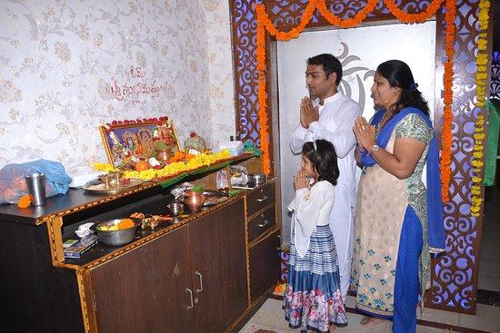 Rajanna Sircilla District, India: shree vinayaka A/C family restaurent