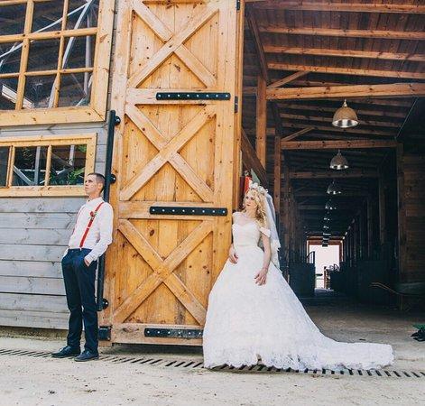 Красивая свадьба на Ферме.