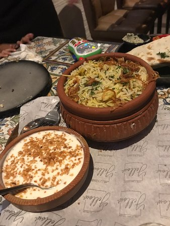 Indian fusion food