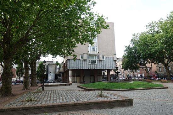 Le Square Holker, Rue Raspail, Le Havre