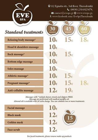 Standard Treatments