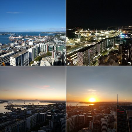 Auckland Harbour Suites : View from level 36