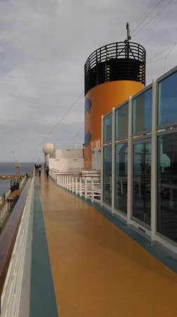 Costa Diadema. Cruise: Italy, France, Spain (March 2018)