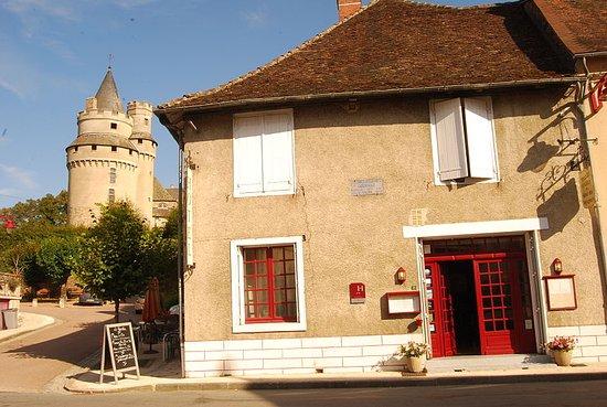 The Hotel des Voyageurs,  Coussac Bonneval.