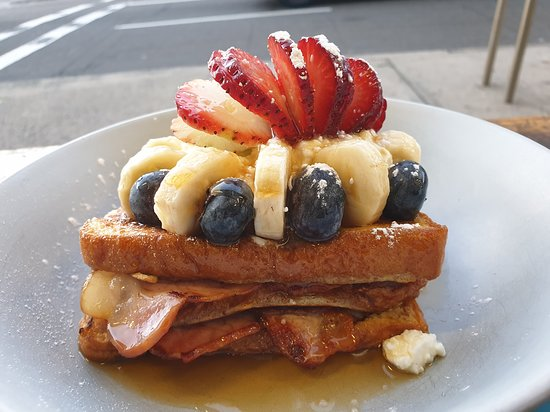 Yum, French toast to die for.