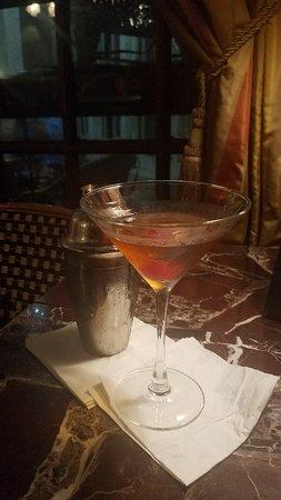 After dinner cocktails