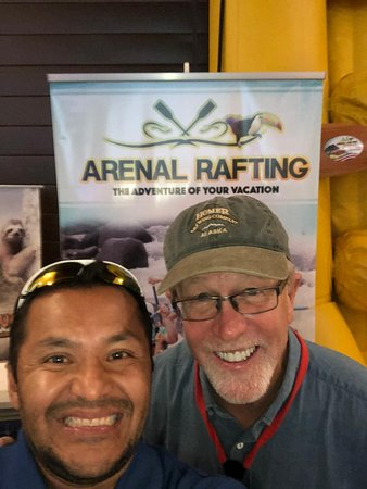 Arenal Rafting in the world rafting summit accomplished at the convention center in San Jose Costa Rica,