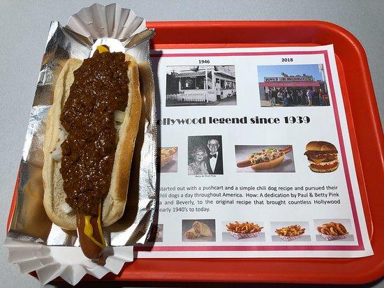 Pink S Hot Dogs Camarillo 740 Ventura Blvd Menu Prices Restaurant Reviews Tripadvisor