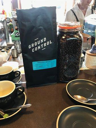 "Casuarina, Australia: Our delicious local ""Ground Control"" coffee"