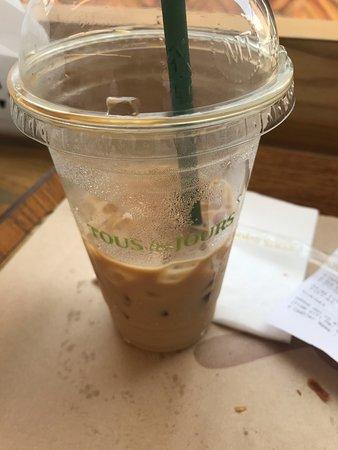 My latte coffee
