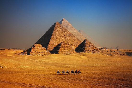 Half Day Tour to Giza Pyramids with...