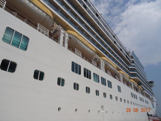 August-September 2017. Costa Deliziosa. Cruise: Italy, Greece, Croatia.