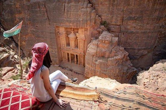Excursion de 2 jours à Pétra et Wadi...