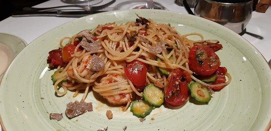 The most delicious pasta