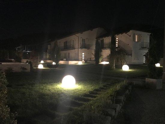 L esterno in notturna