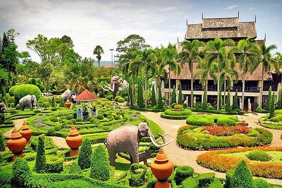 Pattaya: boleto de entrada al jardín...
