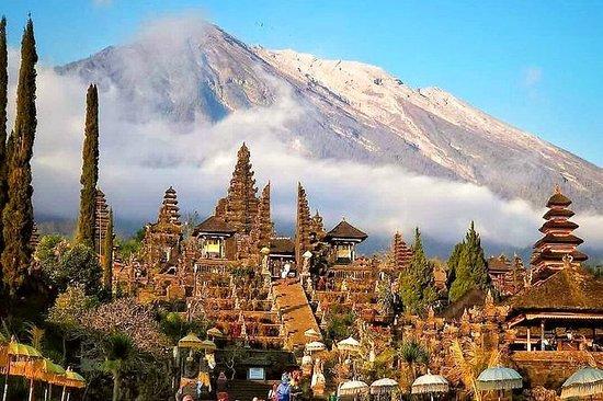キンタマーニ火山の眺めとブサキ寺院ツアー-バリ1日ツアー