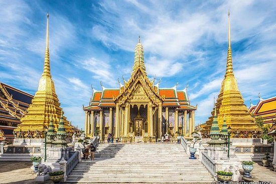 Morning At Bangkok Grand Palace en Wat ...