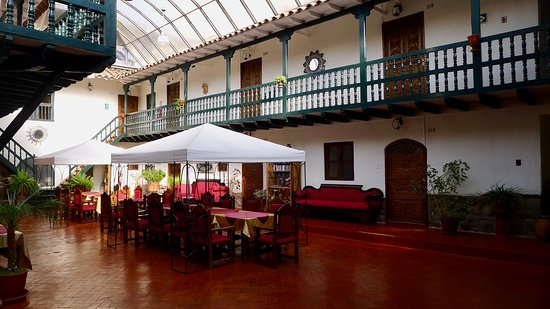 Rear courtyard (covered)