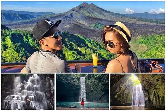 滝のベスト:関東ランポ-ティブマナ-トゥカドセプン-キンタマーニ火山