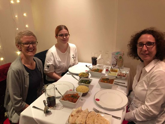 Ladies night out at the Roti