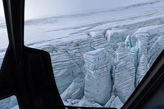 Esperienza sul ghiacciaio e area