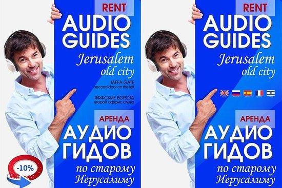 Audioguida in 9 lingue per la città