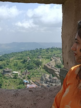 Kumbhalgarh, Индия: Beautiful views of Temples of Kumbhal fort