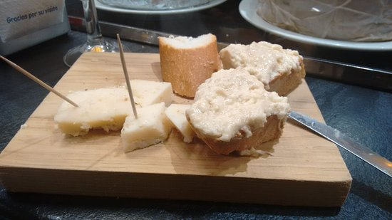 Tapa de quesos