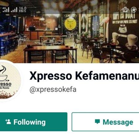 Kefamenanu, Endonezya: Xpresso cafe
