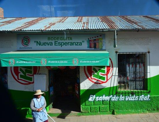 Pucara, Peru: V ulicích městečka Pucará