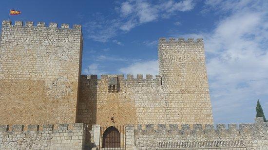 Encinas de Esgueva, España: Entrada al Castillo.