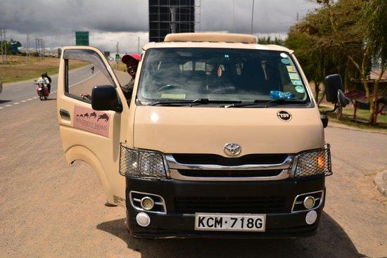 On the way to Samburu National Park