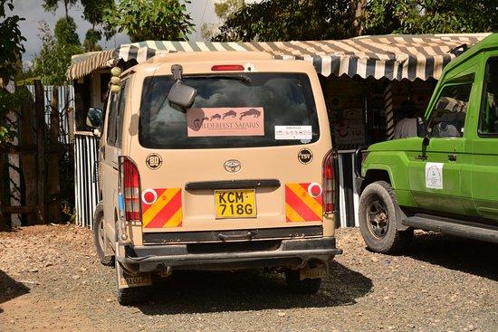 On the way from Naivasha to Masai Mara.